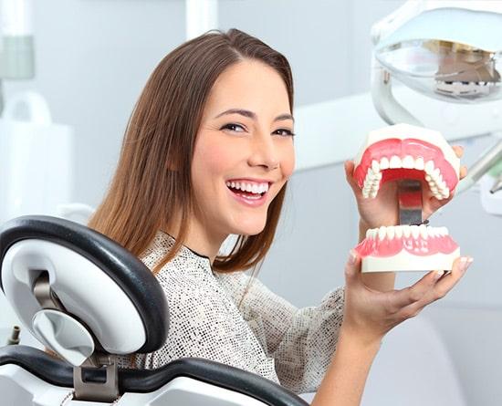 dis ustu implant protetik tedavi
